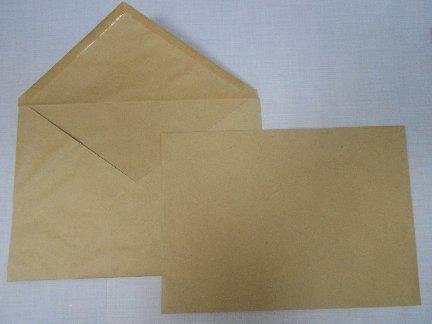 Крафт-конверты с треугольным клапаном